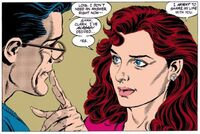 Lois and Clark get engaged