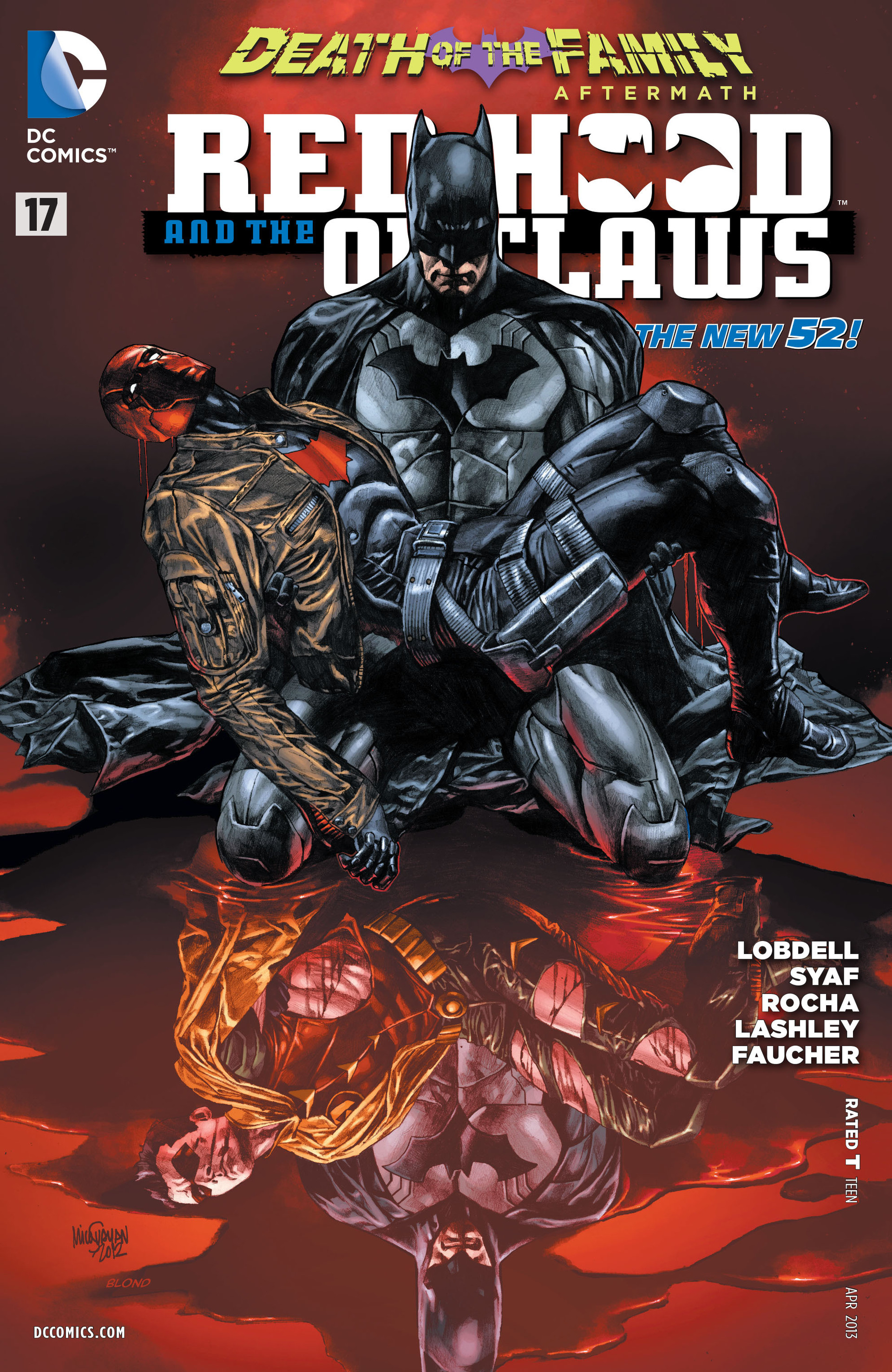 red hood and the outlaws vol 1 17 dc database fandom powered by