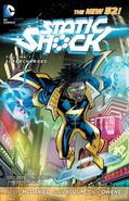Static Shock Supercharged TPB