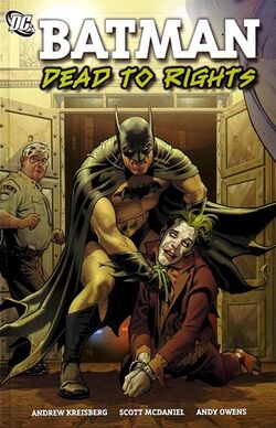 Cover for the Batman: Dead to Rights Trade Paperback