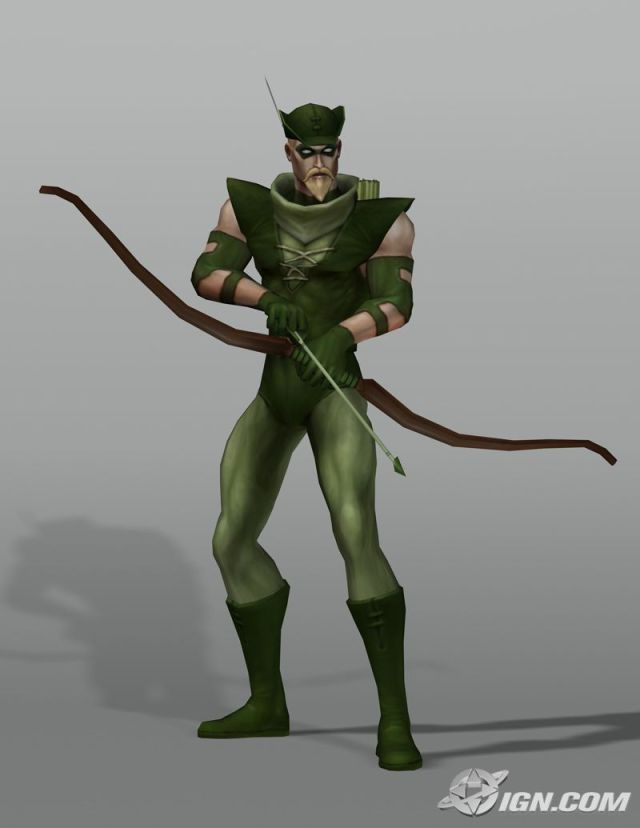 Oliver Queen Justice League Heroes