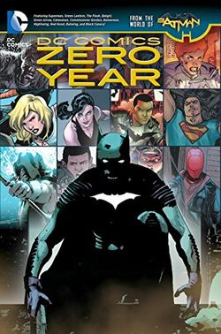 Cover for the DC Comics: Zero Year Trade Paperback