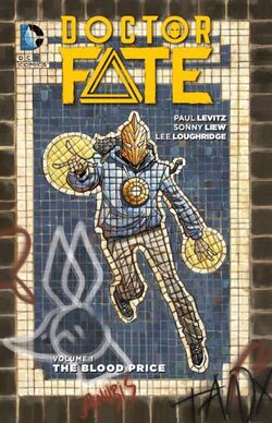 Cover for the Doctor Fate: The Blood Price Trade Paperback