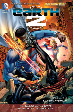 Cover for the Earth 2: The Kryptonian Trade Paperback