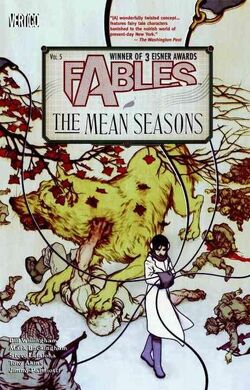 Cover for the Fables: The Mean Seasons Trade Paperback