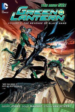 Cover for the Green Lantern: Revenge of the Black Hand Trade Paperback