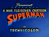 Superman (1941 Cartoons) Episode: Electric Earthquake