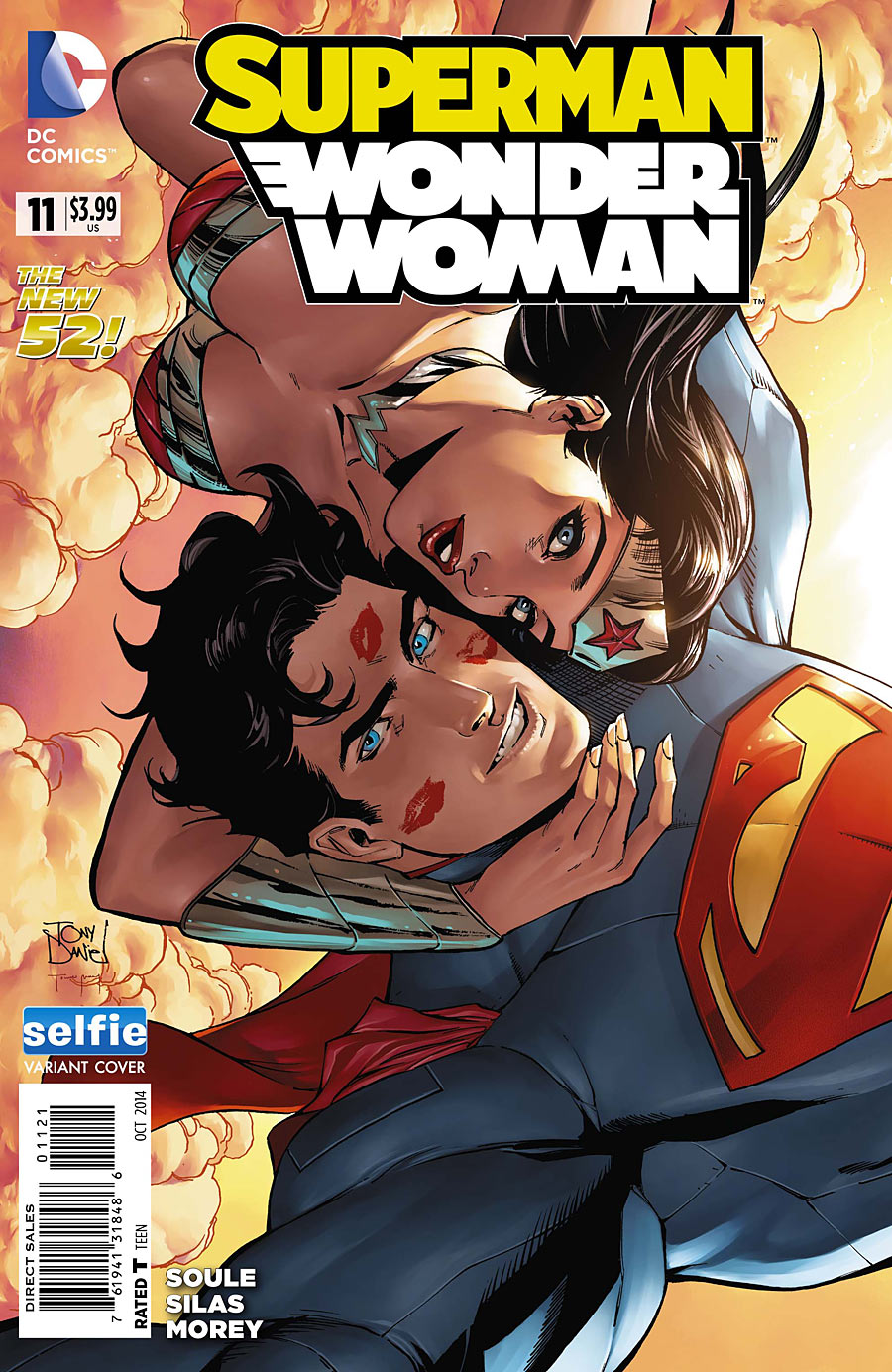 Superman Wonder Woman Vol 1 11 Selfie Variant
