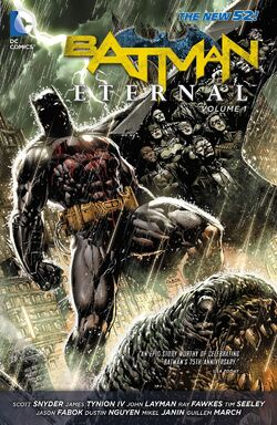 Cover for the Batman Eternal Vol. 1 Trade Paperback