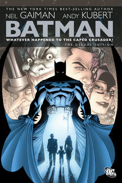 Cover for the Batman: Whatever Happened to the Caped Crusader? Trade Paperback