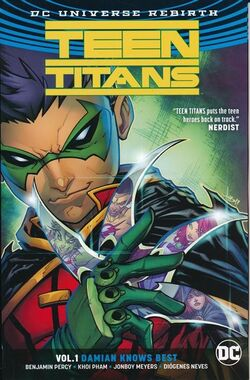 Cover for the Teen Titans: Damian Knows Best Trade Paperback