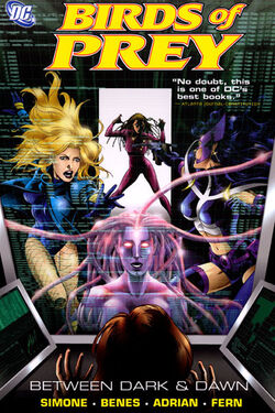 Cover for the Birds of Prey: Between Dark & Dawn Trade Paperback