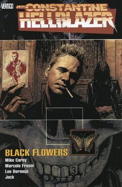 Cover for the Hellblazer: Black Flowers Trade Paperback