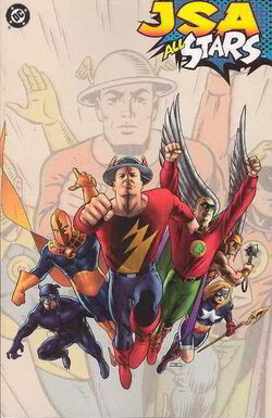 Cover for the JSA: All Stars Trade Paperback