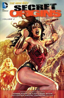 Cover for the Secret Origins Vol. 2 Trade Paperback
