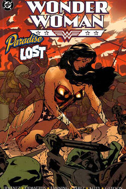 Cover for the Wonder Woman: Paradise Lost Trade Paperback