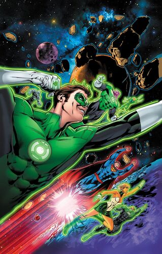 Textless Green Lantern 75th Anniversary Variant