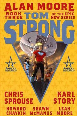 Cover for the Tom Strong: Book Three Trade Paperback