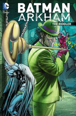 Cover for the Batman Arkham: The Riddler Trade Paperback