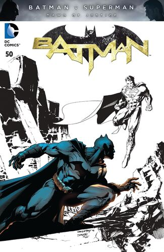 [[Batman v Superman: Dawn of Justice|Batman v Superman]] Spotlight Variant