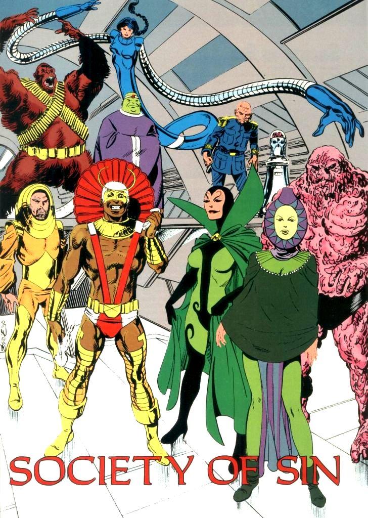 Doom patrol villains wiki imaginary