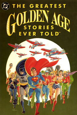 Cover for the The Greatest Golden Age Stories Ever Told Trade Paperback