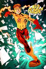 Bart as Kid Flash.