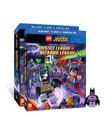 LEGO Justice League vs Bizarro League covers 01