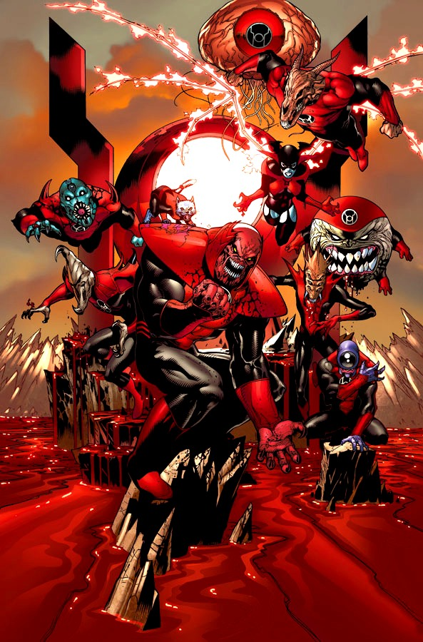 red lantern corps new earth dc database fandom powered by wikia