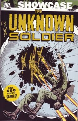 Cover for the Showcase Presents: Unknown Soldier Vol. 1 Trade Paperback