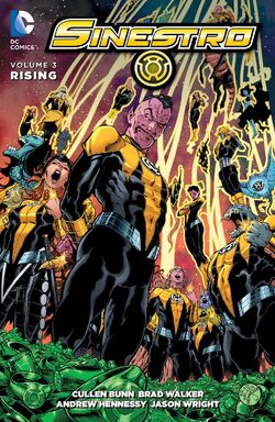 Cover for the Sinestro: Rising Trade Paperback