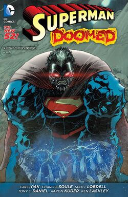 Cover for the Superman: Doomed Trade Paperback