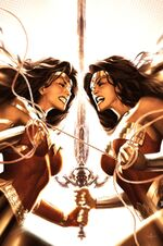 A battle of two Wonder Women