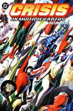 Cover for the Crisis on Multiple Earths Vol. 3 Trade Paperback