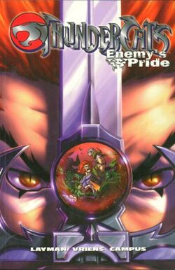 Cover for the Thundercats: Enemy's Pride Trade Paperback