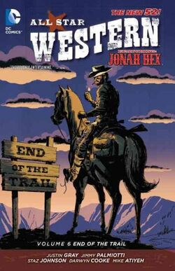 Cover for the All-Star Western: End of the Trail Trade Paperback