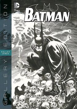 Cover for the Batman: Kelley Jones Gallery Edition Trade Paperback