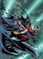 Tim (temporarily) becomes Batman