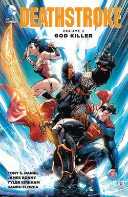 Cover for the Deathstroke: Godkiller Trade Paperback