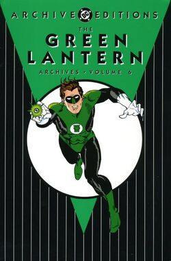 Cover for the The Green Lantern Archives Vol. 6 Trade Paperback