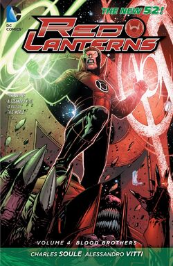 Cover for the Red Lanterns: Blood Brothers Trade Paperback