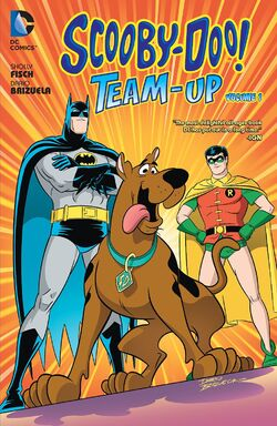 Cover for the Scooby-Doo! Team-Up Vol. 1 Trade Paperback