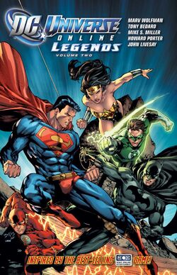 Cover for the DC Universe Online Legends: Vol 2 Trade Paperback