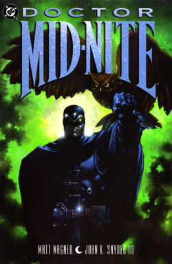 Cover for the Doctor Mid-Nite Trade Paperback