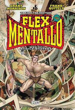 Cover for the Flex Mentallo: Man of Muscle Mystery Trade Paperback