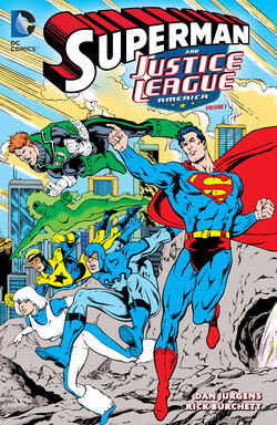 Cover for the Superman and the Justice League of America Volume 1 Trade Paperback