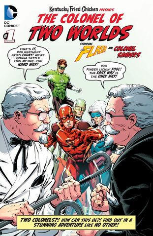 File:Kentucky Fried Chicken Presents The Colonel of Two Worlds Vol 1 1.jpg