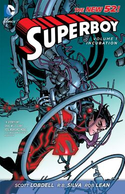 Cover for the Superboy: Incubation Trade Paperback
