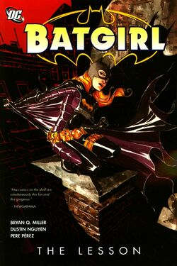 Cover for the Batgirl: The Lesson Trade Paperback