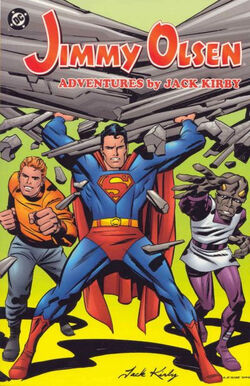 Cover for the Jimmy Olsen: Adventures by Jack Kirby Vol. 1 Trade Paperback